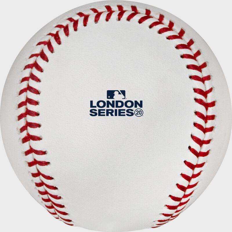 London Series stamp on an Official MLB baseball - SKU: EA-ROMLBLS20-R