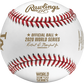 The MLB 2020 Los Angeles Dodgers World Series champions baseball with gold stamping - SKU: EA-WSBB20CHMP-R image number null