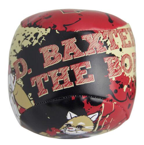 Top of Rawlings Arizona Diamondbacks Quick Toss 4'' Softee Baseball With Team Name On Front In Team Colors SKU #01320010113