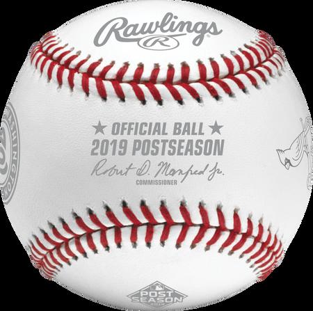 MLB 2019 National League Championship Series Dueling Baseball