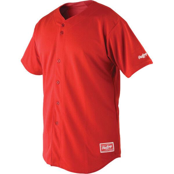 Adult Short Sleeve Jersey Scarlet