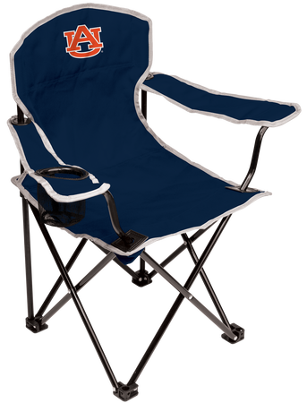 Auburn Tigers youth chair with the team logo printed on the back