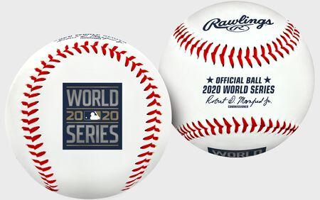 2020 World Series Replica Baseball