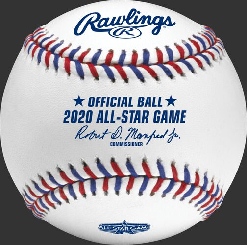 A MLB 2020 All-Star baseball with the commissioner's signature - SKU: EA-ASBB20-R
