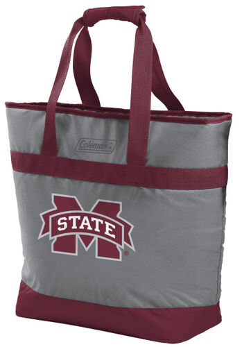 Rawlings Mississippi State Bulldogs 30 Can Tote Cooler In Team Colors With Team Logo On Front SKU #07883039111