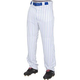 Adult Semi-Relaxed Pinstripe Baseball Pant