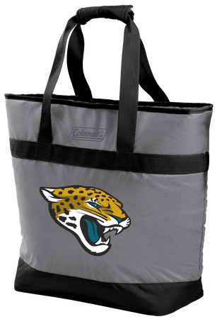 Rawlings Jacksonville Jaguars 30 Can Tote Cooler In Team Colors With Team Logo On Front SKU #07571091111