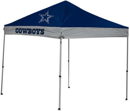 NFL Dallas Cowboys 9x9 shelter with 4 team logos