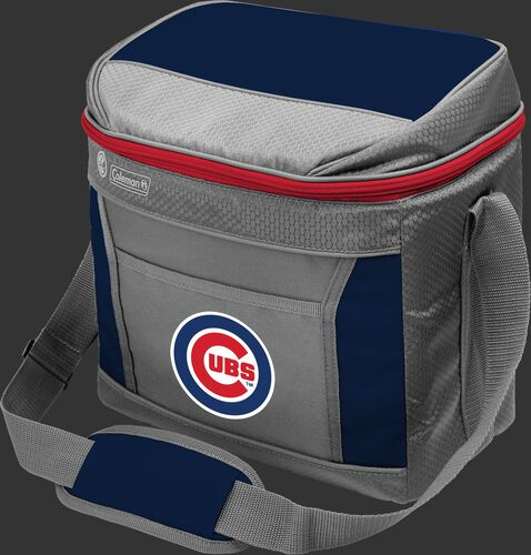 Rawlings Chicago Cubs 16 Can Cooler In Team Colors With Team Logo On Front SKU #03140008111