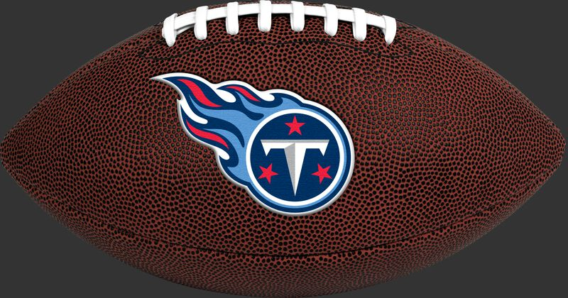Brown NFL Tennessee Titans Football With Team Logo SKU #07081069811