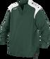 Front of Rawlings Dark Green Adult Long Sleeve Quarter-Zip Jacket - SKU #FORCEJ-B-88 image number null