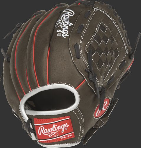 MPL100DSB 10-inch youth Mark of a Pro Light glove with a dark shadow back