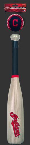 MLB Cleveland Indians Bat and Ball Set