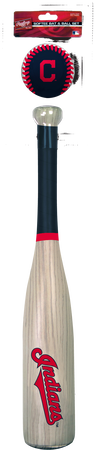 MLB Cleveland Indians Bat and Ball Set