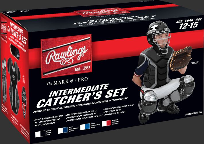 Renegade Intermediate Catchers Set Scarlet