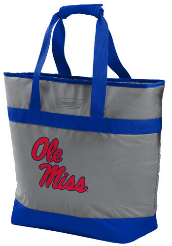 Rawlings Ole Miss Rebels 30 Can Tote Cooler In Team Colors With Team Logo On Front SKU #07883087111