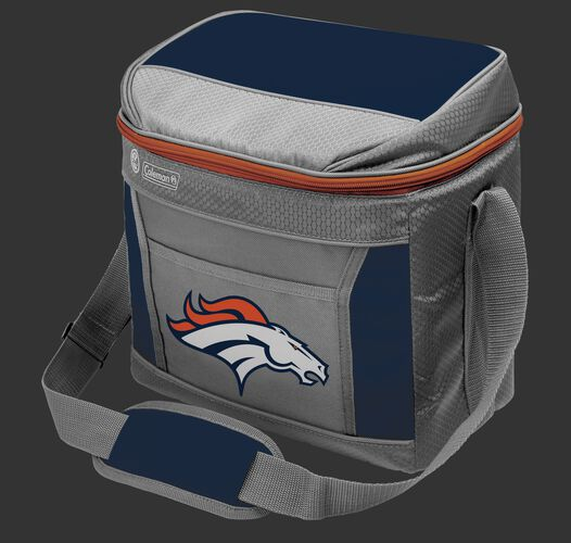 Rawlings Denver Broncos 9 Can Cooler In Team Colors With Team Logo On Front SKU #03281066111
