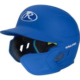 Mach Senior One-Tone Matte Helmet with EXT Flap Royal