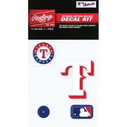 MLB Texas Rangers Decal Kit