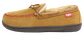 Left side of a RF50004-204 men's baseball stitch moccasin with a baseball stitch pattern image number null