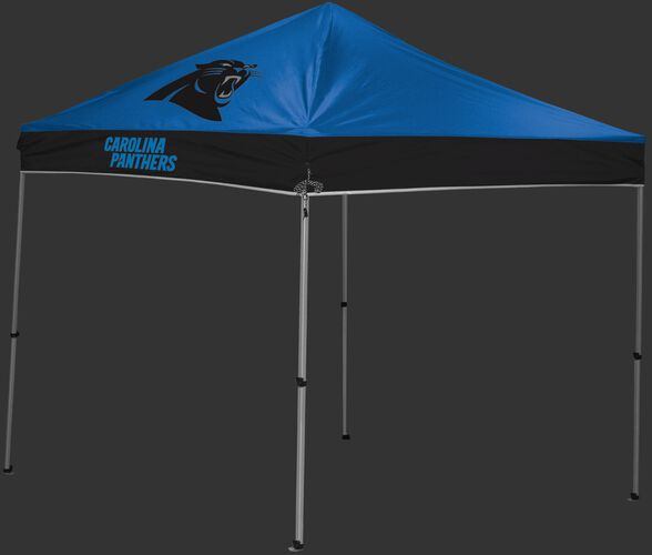 Rawlings Blue and Black NFL Carolina Panthers 9x9 Canopy Shelter With Team Logo and Name SKU #03231090111
