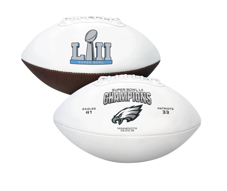 Super Bowl 52 Champions Philadelphia Eagles Youth Size Football