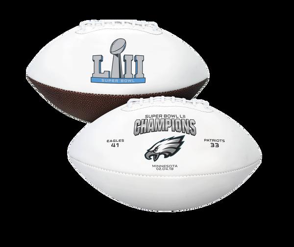 Super Bowl 52 Champions Philadelphia Eagles Youth Size Football