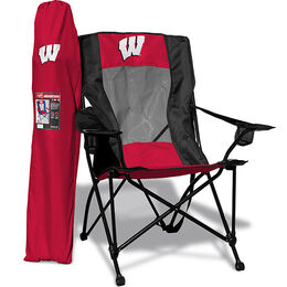 NCAA Wisconsin Badgers High Back Chair
