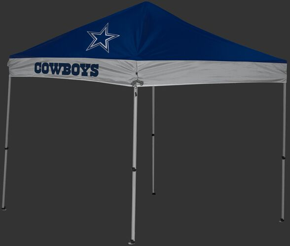 Rawlings Navy and Grey NFL Dallas Cowboys 9x9 Canopy Shelter With Team Logo and Name SKU #03231065111