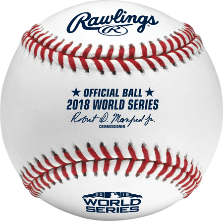 MLB 2018 World Series Baseball