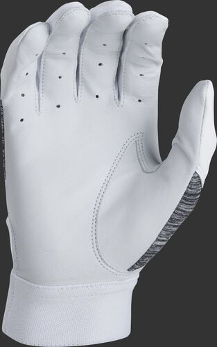 White palm of a 5150WGB-W Rawlings youth 5150 batting glove