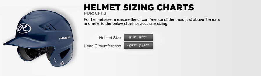 Sizing Charts for Sports Equipment & Apparel:: Rawlings com