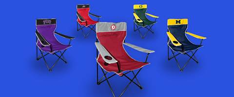 NCAA Tailgating Chairs