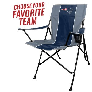 6c1e71746ff The NFL Portable Folding Tailgate Chair with Cup Holder and Carrying Case