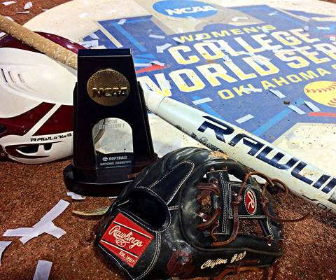 Women's College World Series Champion Oklahoma Sooners