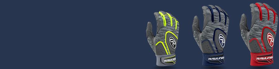 rawlings baseball batting gloves