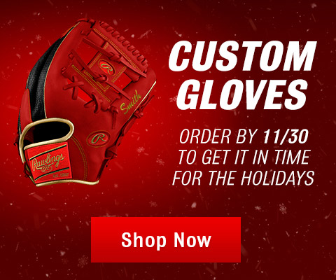 Custom Gloves - Order by 11/30 to get it in time for the holidays!