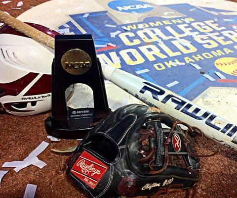 Women's College World Series Champion Oklahoma Sooners